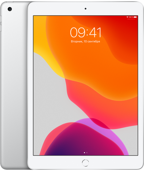 "Apple iPad 7 10.2"" (2019) 32Gb Wi-Fi + Cellular серебристый (MW6C2RU/A)"