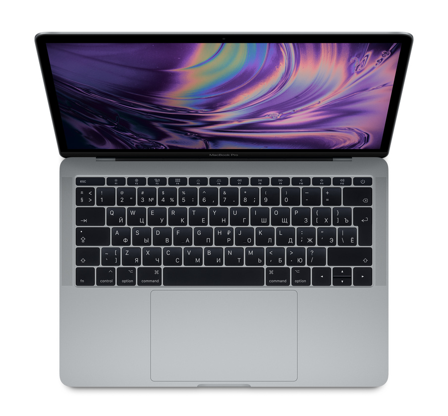 "Apple MacBook Pro 13"" 2017 (MPXQ2RU/A) (2560x1600)/i5 (2.3GHz)/8GB/128GB/Intel 640/Серый космос"