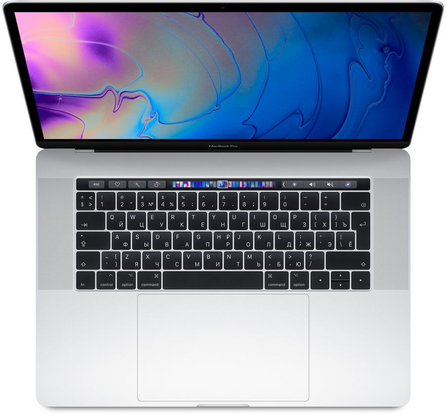 "Apple MacBook Pro 15"" 2018 withTouchBar(MR962RU/A) 2880x1800/i7(2.2GHz)/16GB/256GB/RadeonPro555_4GB/"