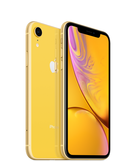 Apple iPhone XR 128GB желтый (MH7P3RU/A) (новая комплектация)