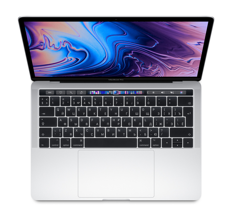 "Apple MacBook Pro 13"" 2018 Touch Bar (MR9V2RU/A) (2560x1600)/i5(2.3GHz)/8/512/Intel 655/Серебристый"