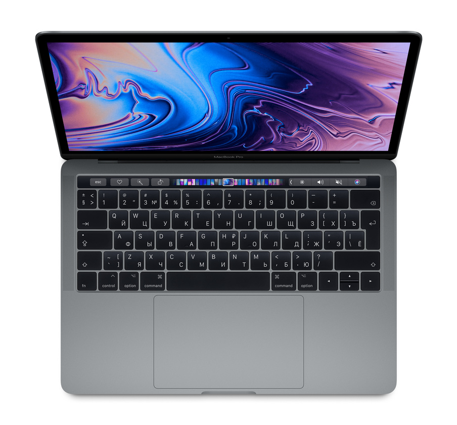 "Apple MacBook Pro 13"" 2018 Touch Bar (MR9Q2RU/A) (2560x1600)/i5(2.3GHz)/8/256/Intel 655/Серый космос"